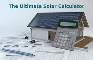 The Ultimate Solar Calculator